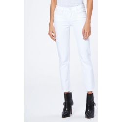PAIGE Women's Skyline Straight Ankle Jeans - Crisp White | Size 32 found on Bargain Bro India from Paige for $189.00