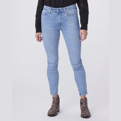 PAIGE Women's Hoxton Ankle Jeans - Adventurous   Blue   Size 29 found on Bargain Bro from Paige for USD $158.84