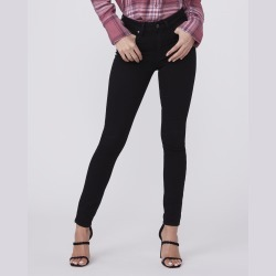 PAIGE Women's Hoxton Ankle - Black Shadow Ultra Skinny Jeans   Size 30 found on Bargain Bro from Paige for USD $136.04