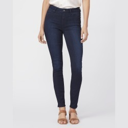 PAIGE Women's Hoxton Ultra Skinny Jeans - Lana   Blue   Size 34 found on Bargain Bro from Paige for USD $143.64
