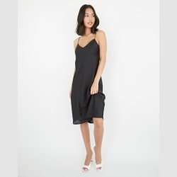 PAIGE Women's Cicely Dress - Black | Size Large found on Bargain Bro India from Paige for $199.00