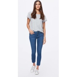 PAIGE Women's Verdugo Crop Jeans - Cityscape | Blue | Size 31 found on Bargain Bro India from Paige for $189.00