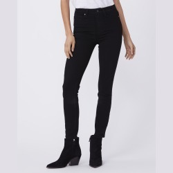 PAIGE Women's Margot Crop - Black Shadow Ultra Skinny Jeans | Size 26 found on Bargain Bro India from Paige for $179.00