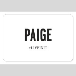 PAIGE Women's Physical Gift Card | Size N/a found on Bargain Bro India from Paige for $250.00