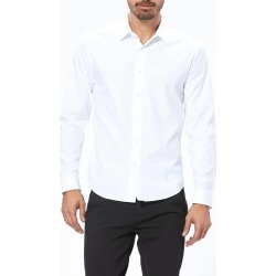 PAIGE Men's Benton Shirt - Fresh White | Size 2X-Large | Long Sleeves found on Bargain Bro India from Paige for $179.00