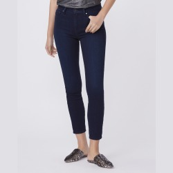 PAIGE Women's Hoxton Ankle Jeans - Monique   Blue   Size 30 found on Bargain Bro from Paige for USD $151.24