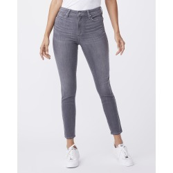 PAIGE Women's Hoxton Ankle Jeans - Stone Dust   Grey   Size 29 found on Bargain Bro from Paige for USD $151.24