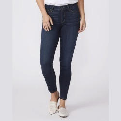 PAIGE Women's Hoxton Ankle - Koda Ultra Skinny Jeans   Blue   Size 24 found on Bargain Bro from Paige for USD $143.64