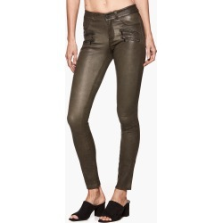 PAIGE Women's Edgemont Pant - Deep Juniper Leather   Size 29 found on Bargain Bro from Paige for USD $756.20