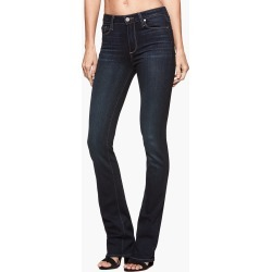 PAIGE Women's High Rise Manhattan Boot Petite Jeans - Gardena | Blue | Size 30 found on Bargain Bro India from Paige for $209.00