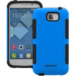Alcatel Onetouch Pop C7 Case, Trident [blue / Black] Aegis Series Slim & Rugged Hard Case Over Silicone Skin Dual Layer Hybrid Case W/ Screen Protector
