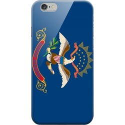 Apple Geeks Designer Line (gdl) Iphone 6 Matte Hard Back Cover - North Dakota