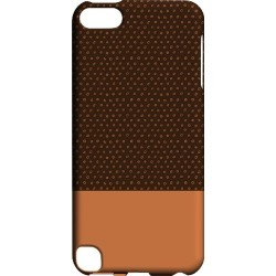 Apple Geeks Designer Line (gdl) Slim Hard Case For Ipod Touch 5 - Little Circle Dots Nectarine