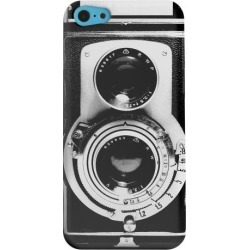 Apple Geeks Designer Line (gdl) Iphone 5c Matte Hard Back Cover - Black Film Noir Camera