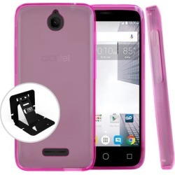 Alcatel Dawn / Acquire / Streak Case, Redshield [hot Pink] Slim & Flexible Anti-shock Crystal Silicone Protective Tpu Gel Skin Case Cover