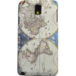 Samsung Geeks Designer Line (gdl) Galaxy Note 3 Matte Hard Back Cover - Terrarum Orbis Tabula Pictomap