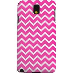 Samsung Geeks Designer Line (gdl) Galaxy Note 3 Matte Hard Back Cover - White On Hot Pink