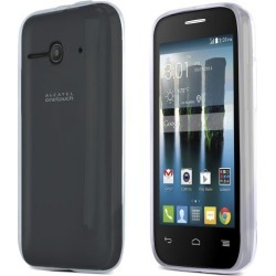 Alcatel One Touch Evolve 2 Case, [clear / Frost] Slim & Flexible Crystal Silicone Tpu Skin Cover For One Touch Evolve 2