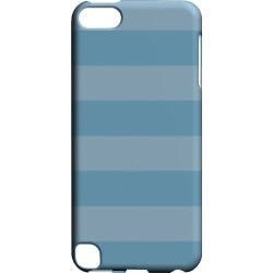 Apple Geeks Designer Line (gdl) Slim Hard Case For Ipod Touch 5 - Stripes Dusk Blue