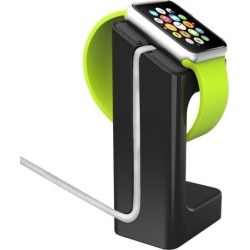 Apple Docking Station Holder For Watch [black] - Fits Either 38mm Or 42mm