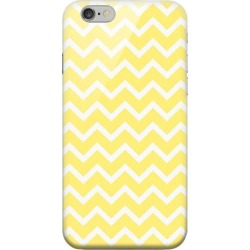 Apple Geeks Designer Line (gdl) Iphone 6 Matte Hard Back Cover - White On Yellow