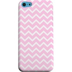 Apple Geeks Designer Line (gdl) Iphone 5c Matte Hard Back Cover - White On Pink