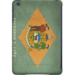 Apple Grunge Delaware - Geeks Designer Line Flag Series Hard Case For Ipad Mini