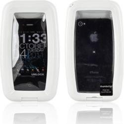 Blackberry Waterproof Aqua Case For Smartphones Iphone 3g/3gs/4 & - White
