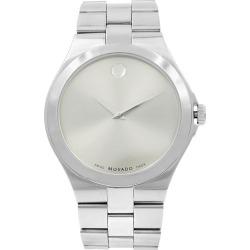 Movado Serio Museum Silver Sunray Dial Steel Men's Quartz Watch 0606556