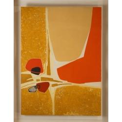 Bernard Munch, Abstract Composition, 1980