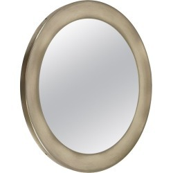 Italian Nickel-plated Brass Round Mirror Narcisso By Sergio Mazza For Artemide