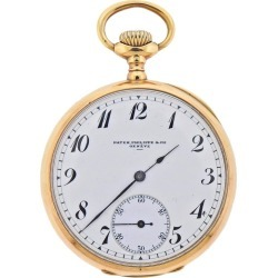 Patek Philippe Antique Gold Pocket Watch found on MODAPINS from 1stDibs for USD $5000.00