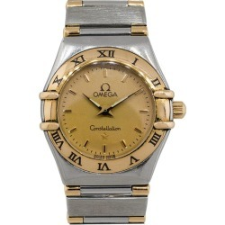 Omega Constellation Two-tone Gold Dial Watch found on MODAPINS from 1stDibs for USD $995.00