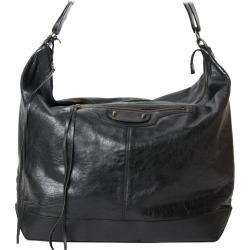 Balenciaga Black Courier Bag