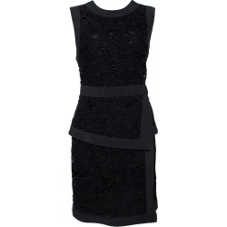 Elie Saab Black Floral Guipure Lace Layered Dress M found on MODAPINS from 1stDibs for USD $533.00