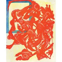 Charline Von Heyl, Nightpack (Red, Yellow, Blue), 2014 found on Bargain Bro Philippines from 1stDibs for $8500.00