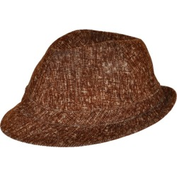 Alberta Ferretti Brushed Cotton Brown Hat found on MODAPINS from 1stDibs for USD $375.00