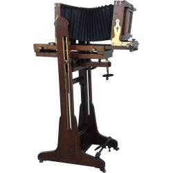 19th Century Old Study Camera In Oak Wood With Height Adjustable And Brake found on Bargain Bro Philippines from 1stDibs for $12800.00