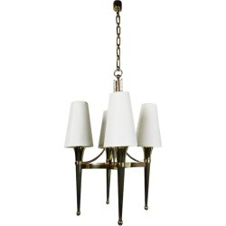 Andre Arbus Style 1940s Chandelier.2 Chandeliers Available. Price For One found on Bargain Bro Philippines from 1stDibs for $3985.00