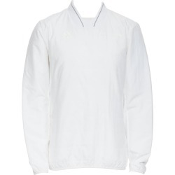 Gosha Rubchinskiy Adidas White Quilted Padded Long Sleeve Sweater Pullover S found on MODAPINS from 1stDibs for USD $250.00