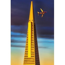 Mitchell Funk, Trans America Building, San Francisco , 2015 found on Bargain Bro India from 1stDibs for $3000.00