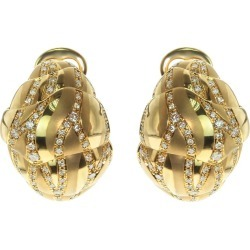Brown Diamonds 18 Karat Yellow Gold Sand-dune Earrings found on Bargain Bro Philippines from 1stDibs for $9044.00