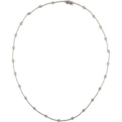Diamond Platinum Bar And Hinged Necklace Chain found on Bargain Bro India from 1stDibs for $9970.00