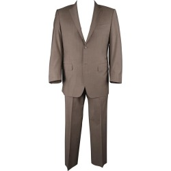 Canali 42 Regular Taupe Wool Notch Lapel 2 Button Single Breasted Suit found on MODAPINS from 1stDibs for USD $553.00