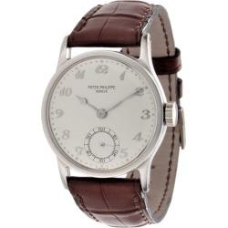 Patek Philippe 96p Platinum Calatrava Watch found on MODAPINS from 1stDibs for USD $27500.00