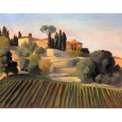 Rachel Newman, Villa at Murlo, Tuscany, 2000s found on Bargain Bro Philippines from 1stDibs for $1900.00