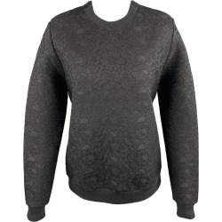 Givenchy Size S Black Lace Polyester Blend Crew-neck Pullover found on Bargain Bro India from 1stDibs for $468.00