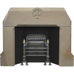 Antique 19th Century Mid-victorian Gothic Sandstone Fire Surround found on Bargain Bro Philippines from 1stDibs for $2253.10