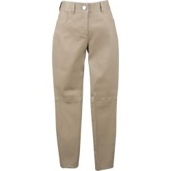 Balenciaga Size 4 Taupe Stretch Leather Skinny Jean Cut Pants found on Bargain Bro Philippines from 1stDibs for $546.00