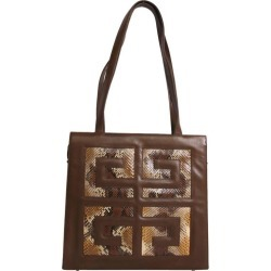 Givenchy Bag In Brown Lambskin Leather found on Bargain Bro India from 1stDibs for $520.71